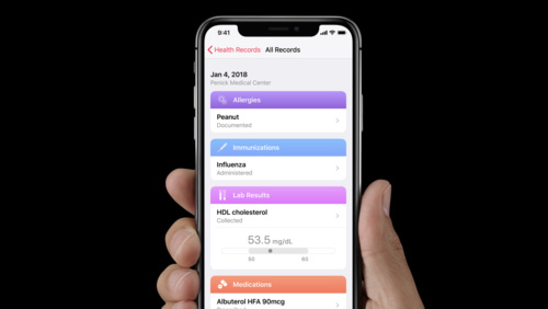 Accessing Health Records with HealthKit