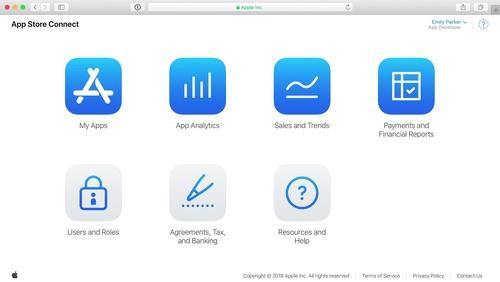App Store Connect Basics