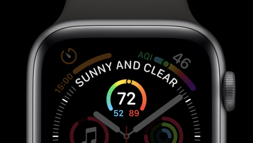 Developing Complications for Apple Watch Series 4