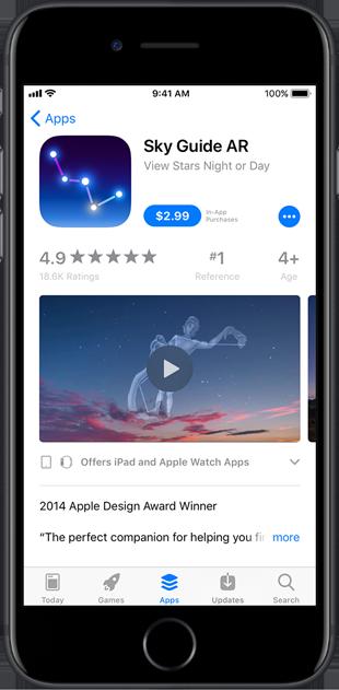 AR App previews