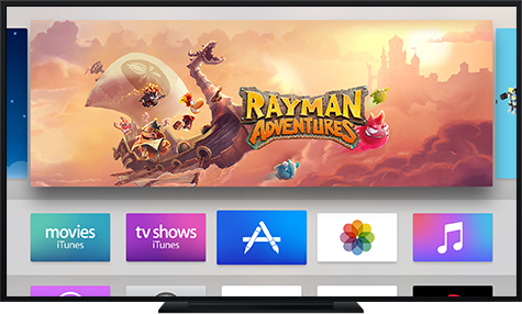 Preparing your tvos app for the app store apple developer optimize your design and images apple tv ccuart Images
