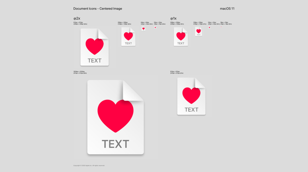 Design and implement macOS document icons