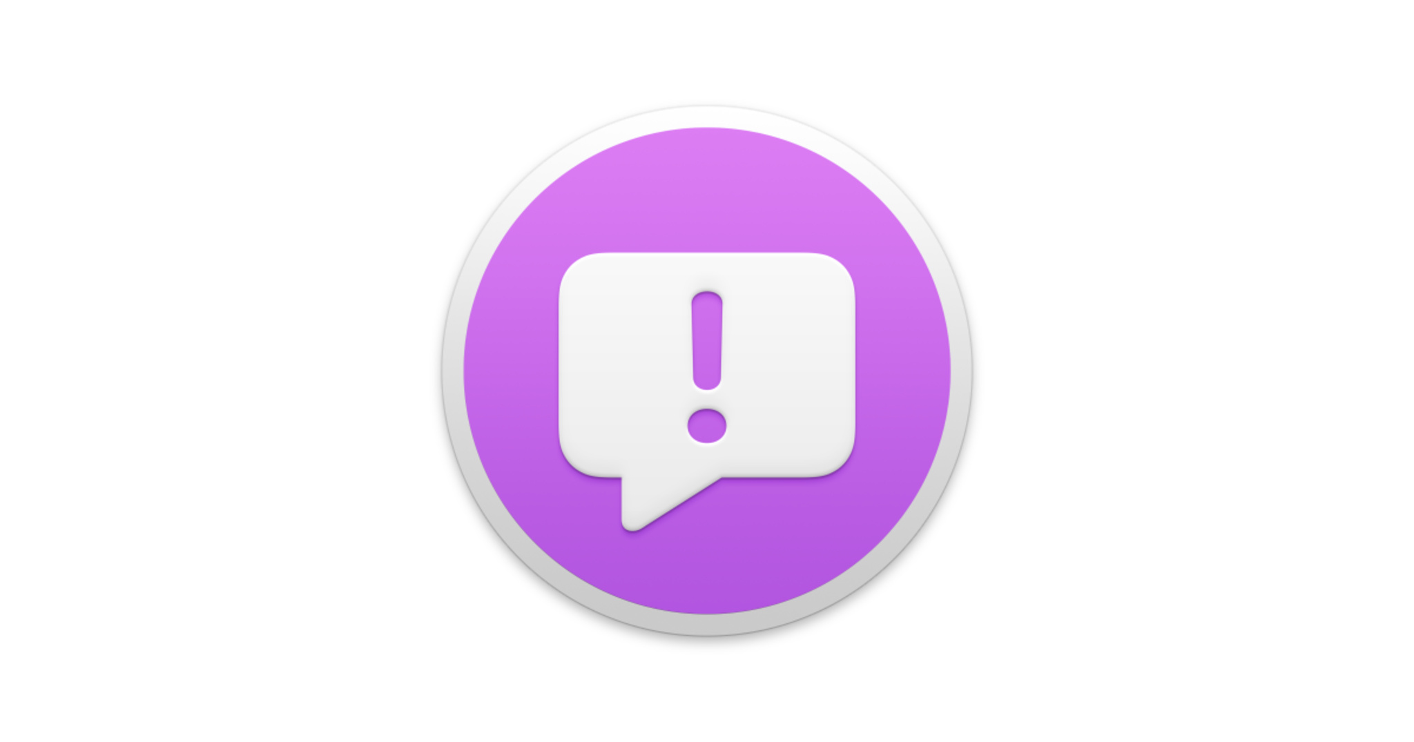 Icon for Feedback Assistant, Apple's feedback submission app