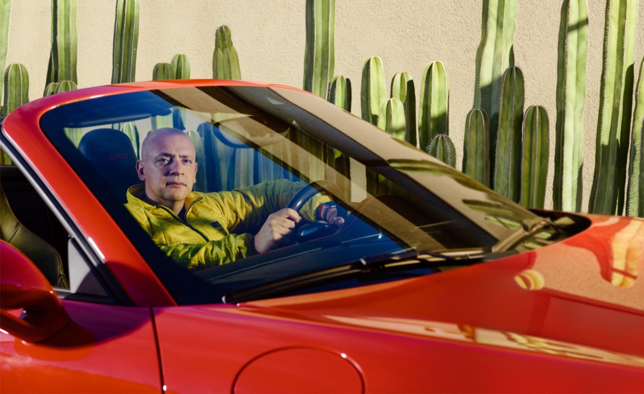 Once a refugee, Haddad now runs the high-end car-rental app Turo.