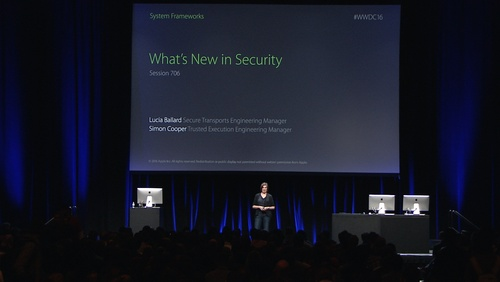 What's New in Security