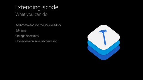 Using and Extending the Xcode Source Editor