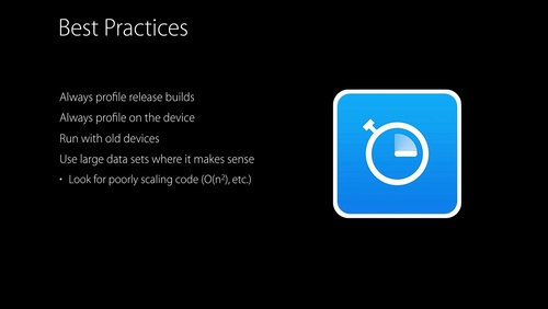 Using Time Profiler in Instruments - WWDC 2016 - Videos