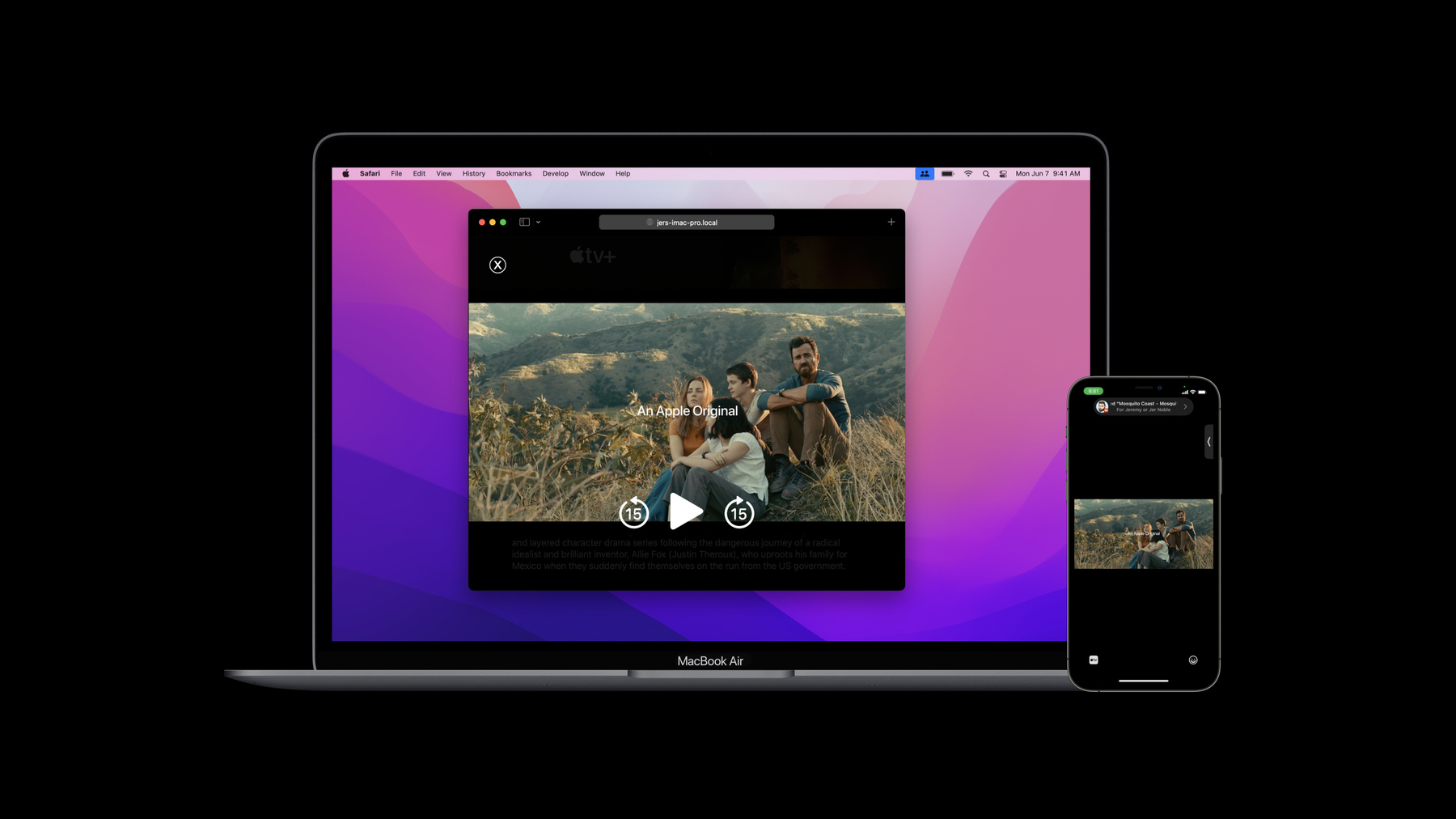 Synced video playback in Safari on macOS and iOS