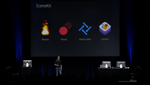 Enhancements to SceneKit