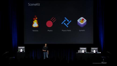 Enhancements to SceneKit