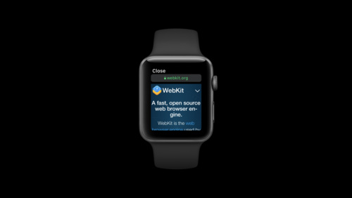 Designing Web Content for watchOS