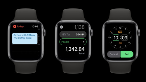 SwiftUI on watchOS