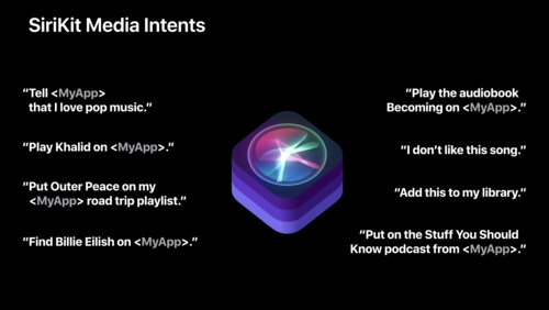 Introducing SiriKit Media Intents
