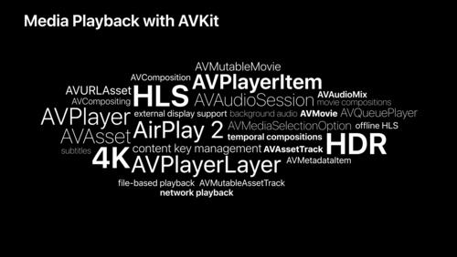 Delivering Intuitive Media Playback with AVKit