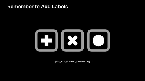 Writing Great Accessibility Labels