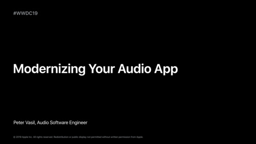 What's New in AVAudioEngine