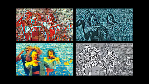 Build Image and Video Style Transfer models in Create ML