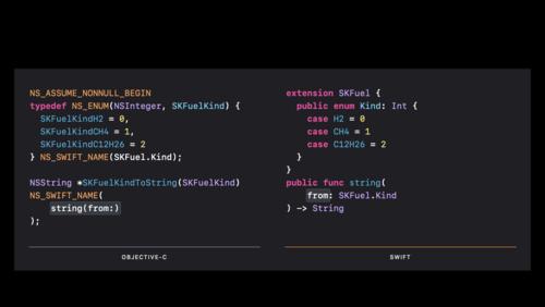 Refine Objective-C frameworks for Swift