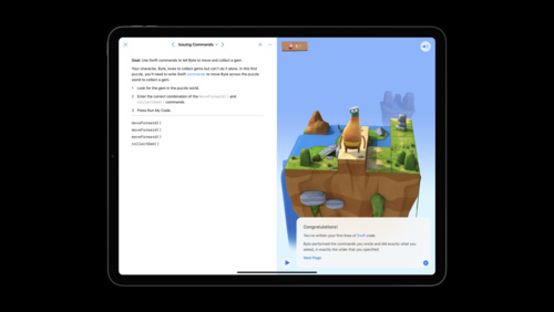 Build a SwiftUI view in Swift Playgrounds