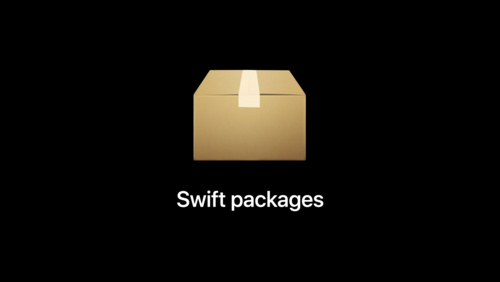 Distribute binary frameworks as Swift packages