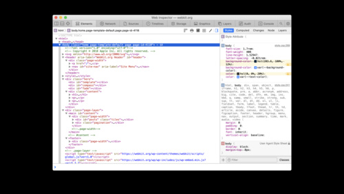 What's new in Web Inspector