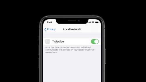 Support local network privacy in your app