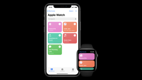 Create quick interactions with Shortcuts on watchOS