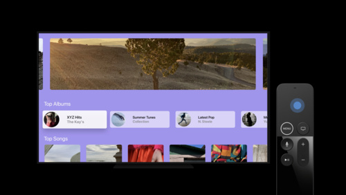 Build SwiftUI apps for tvOS