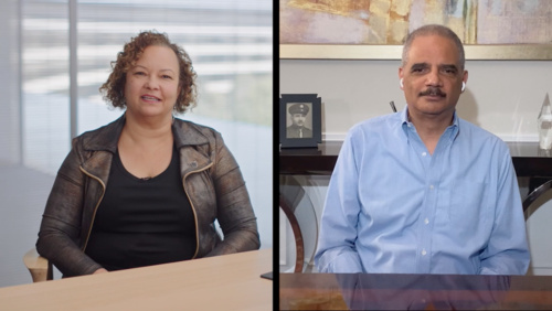 A conversation with Lisa Jackson and former Attorney General Eric Holder