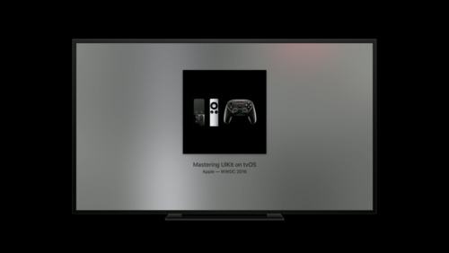 Now Playing and Remote Commands on tvOS - WWDC 2017 - Videos