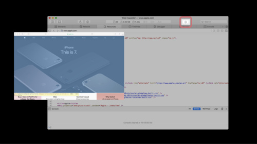 Web Inspector Walkthrough